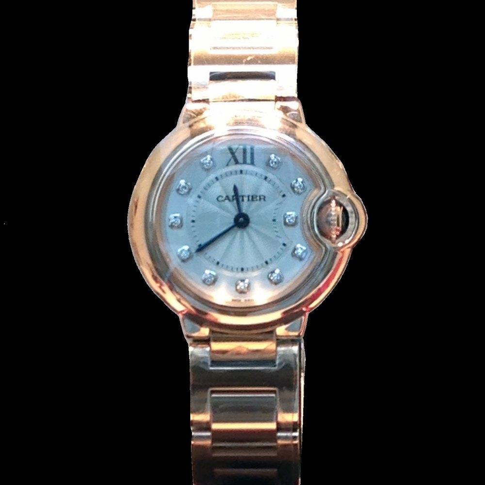 Cartier Ballon Bleu 18k Rose Gold WE902025