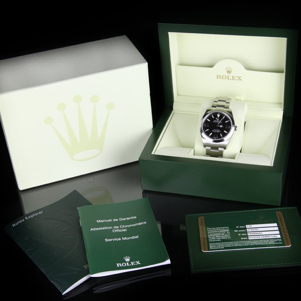 Rolex Explorer I Stainless Steel 214270