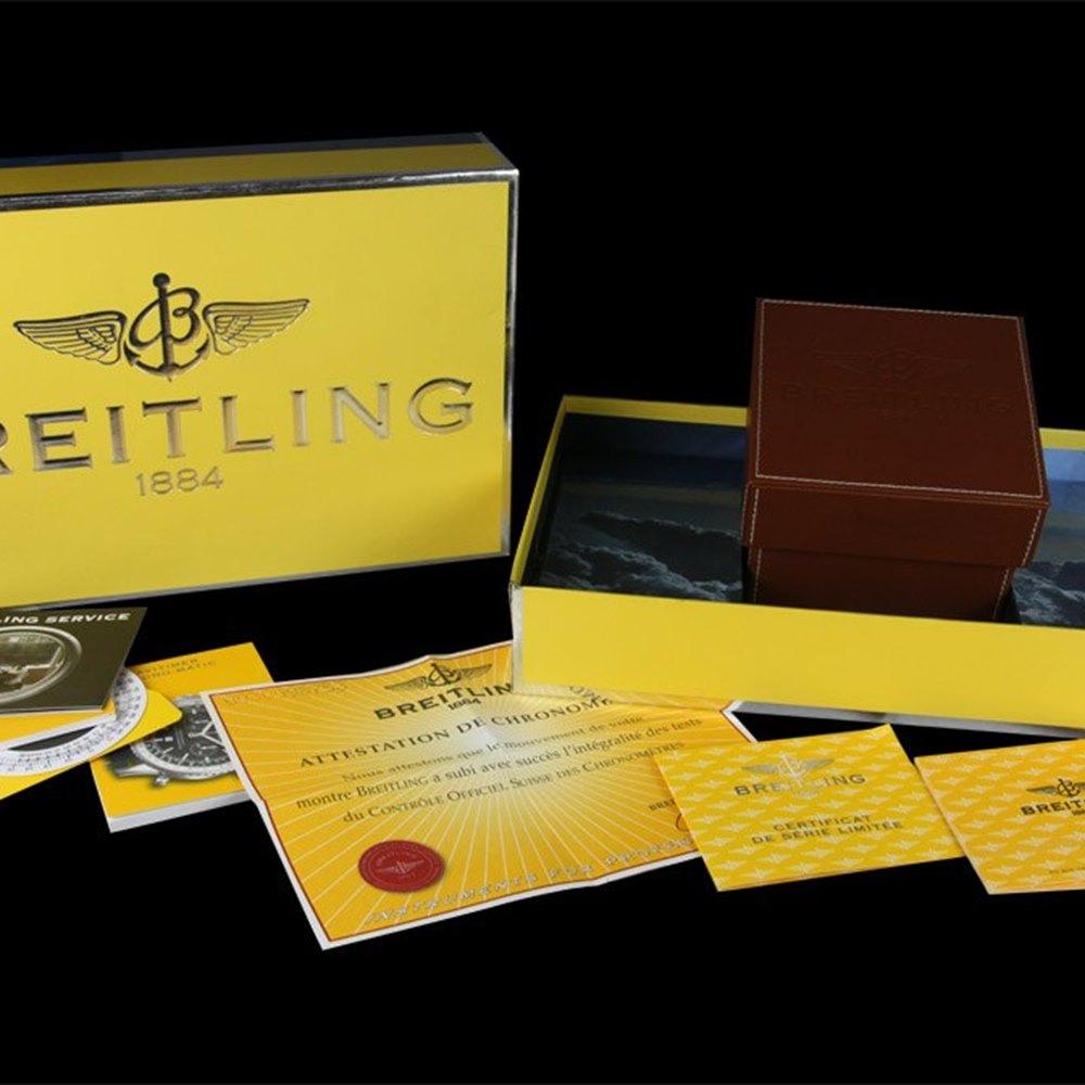 Breitling Chronomatic 18k Yellow Gold K41350