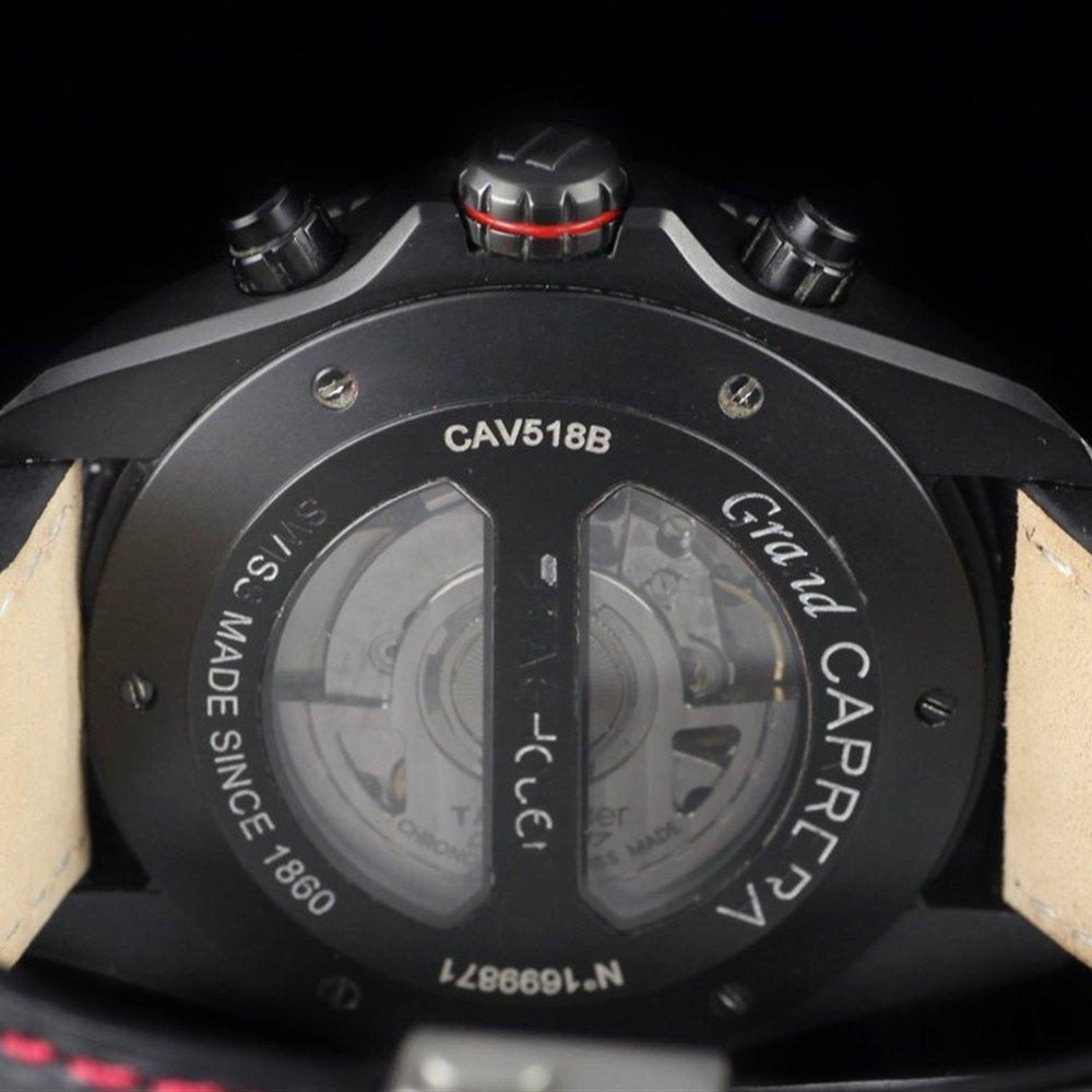 Tag Heuer Grand Carrera Black Sandblasted Titanium CAV518B.FC6237