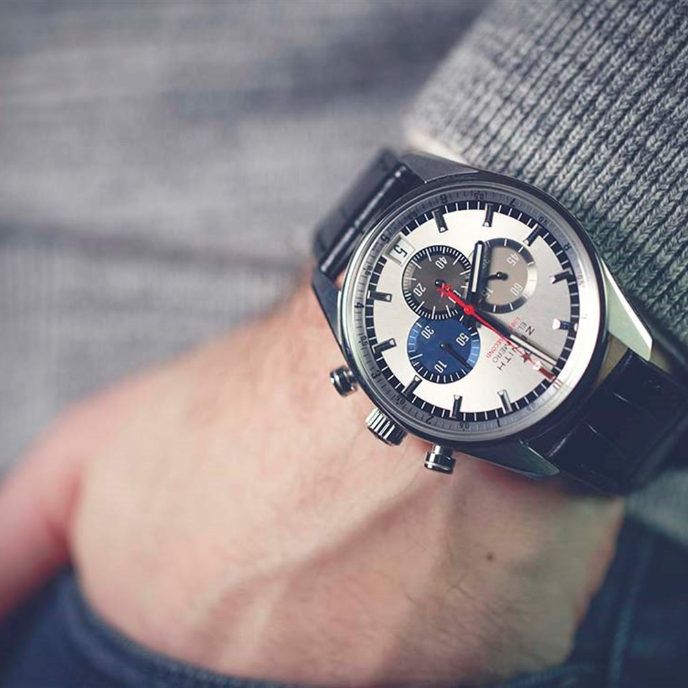 Zenith El Primero 1/10th of a Second Chronograph Stainless Steel 03.2041.4052/69.C496