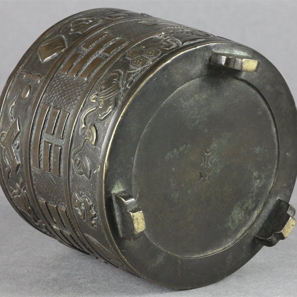 CHINESE BRONZE CENSER Dates from the 19th Century