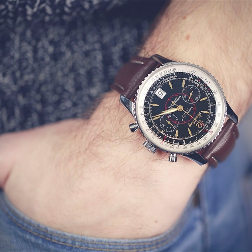 Breitling Montbrillant Stainless Steel A48330