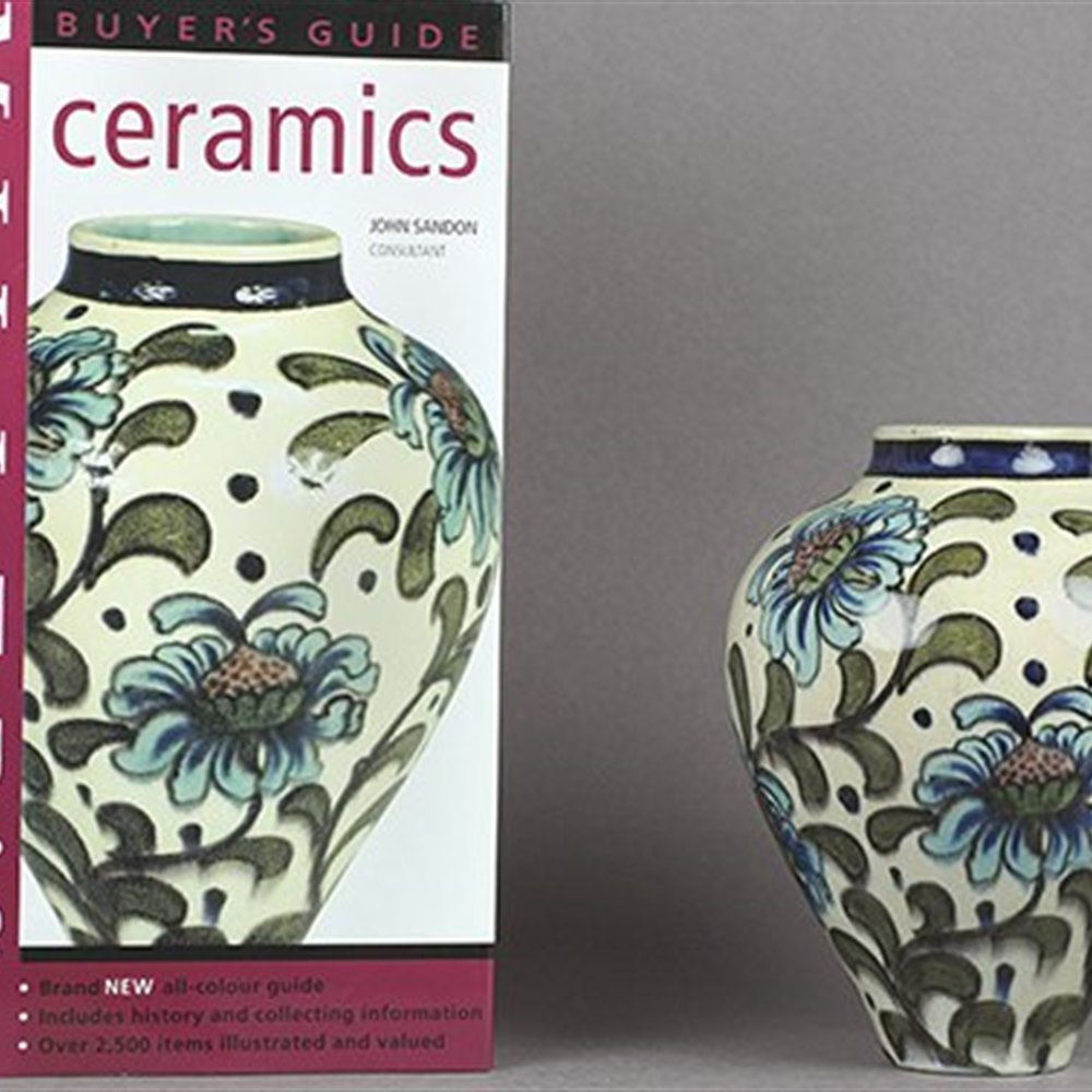 BURMANTOFTS FAIENCE VASE Circa 1895