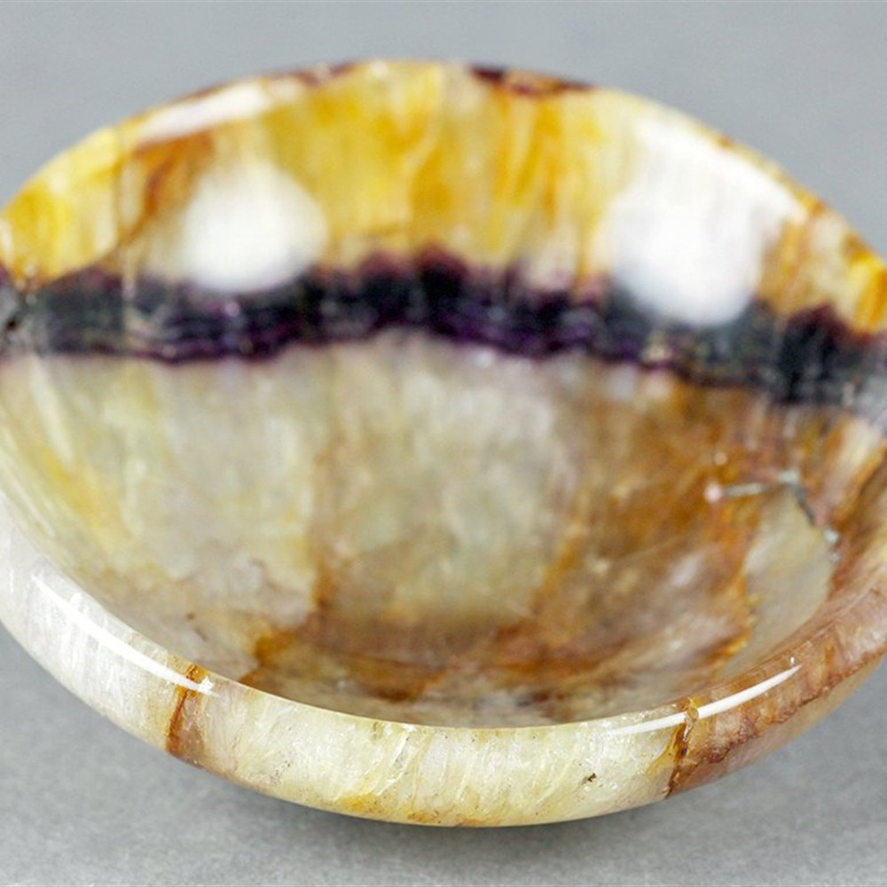 BLUE JOHN SPAR BOWL From the 19th century