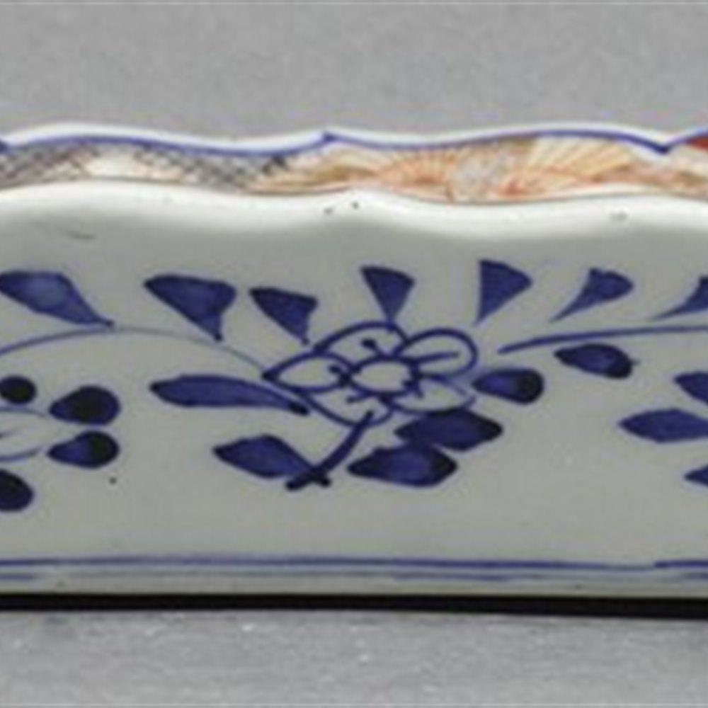 JAPANESE IMARI TRAY Meiji 19th Century