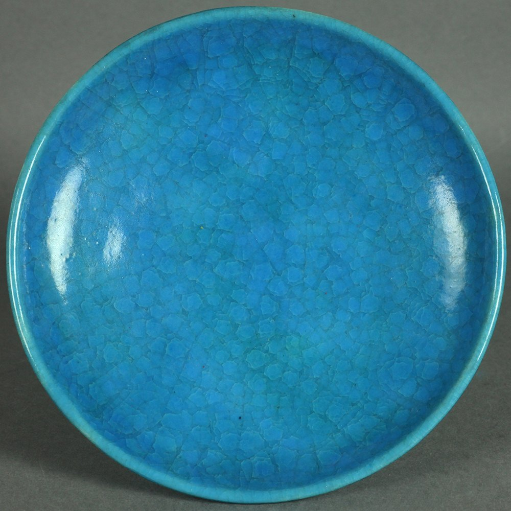 ART POTTERY PEDESTAL DISH Dated 1927