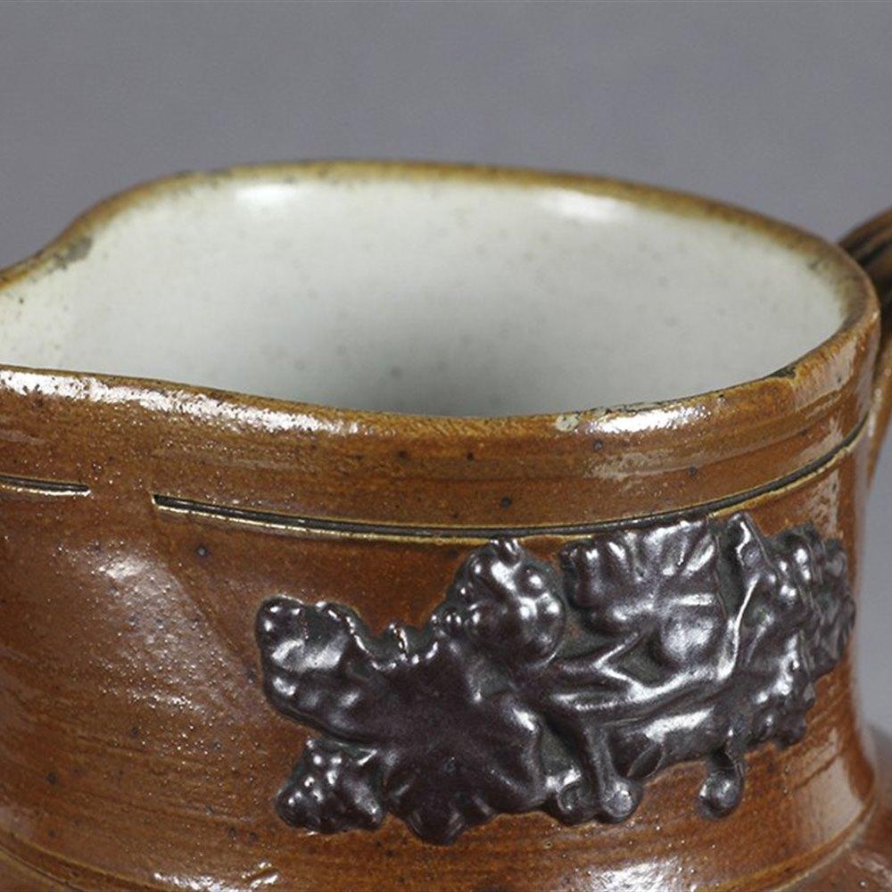 SALT GLAZED JUG 19th Century