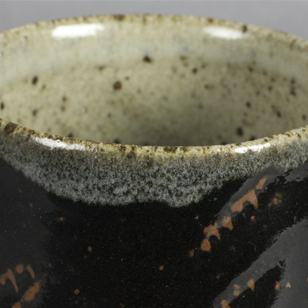 LEACH POTTERY PEDESTAL BOWL Made between 1938 and 1977