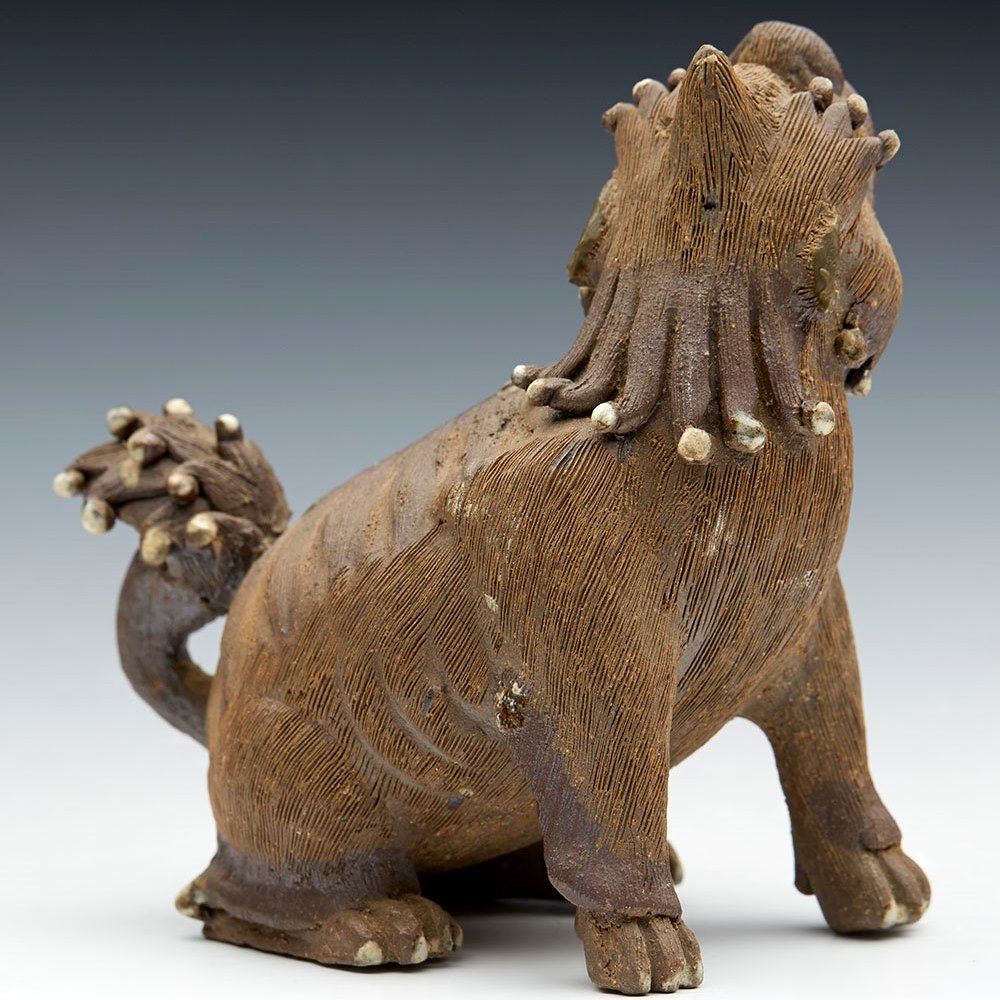 SHIWAN DOG FIGURE c.1900 Circa 1900