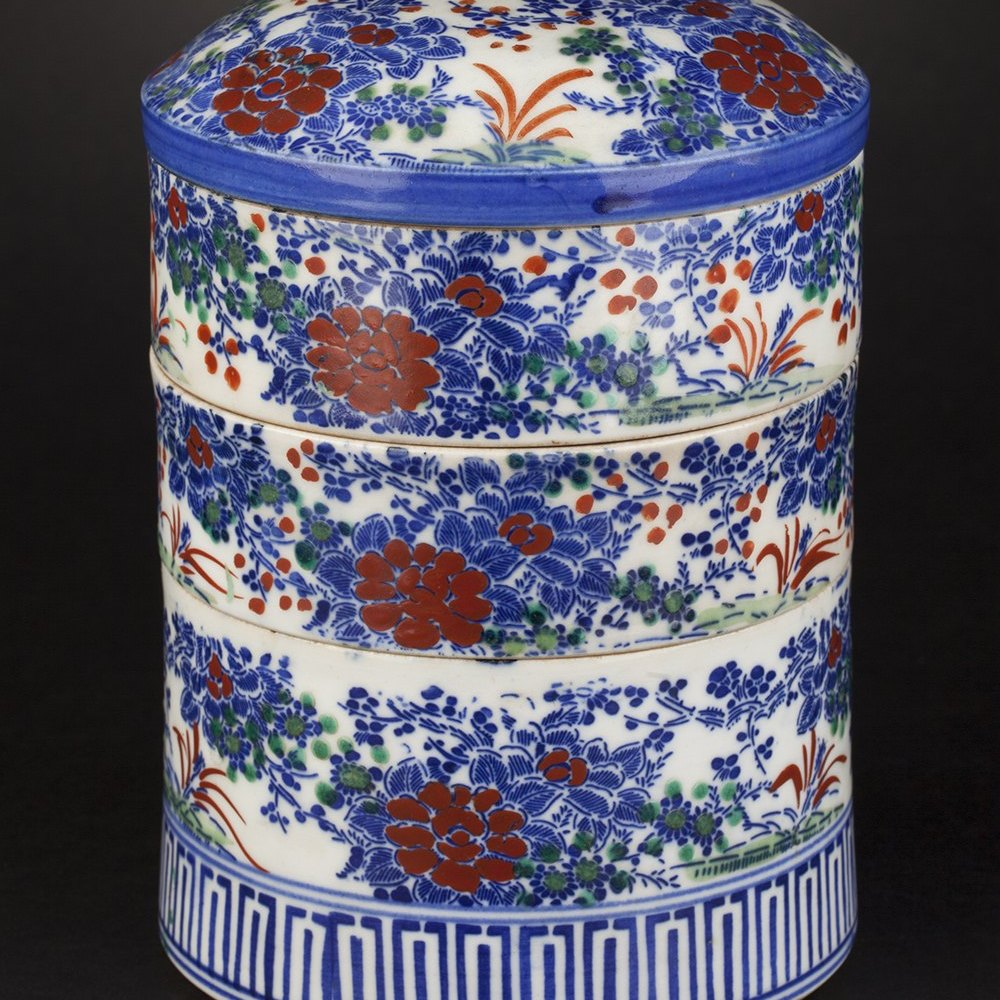 FOOD STORAGE CONTAINER Believed 19th or early 20th century