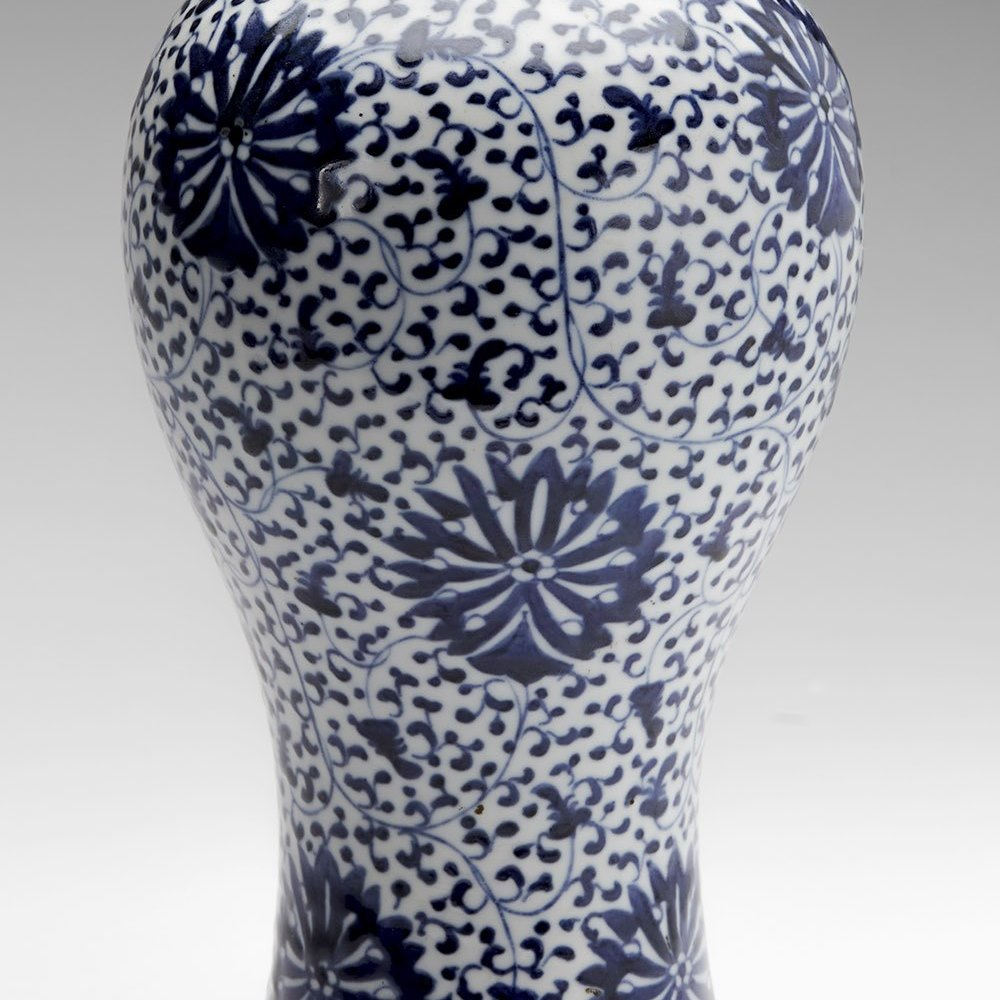 CHINESE MEIPING VASE 18TH C. Dates from the 18th century or earlier