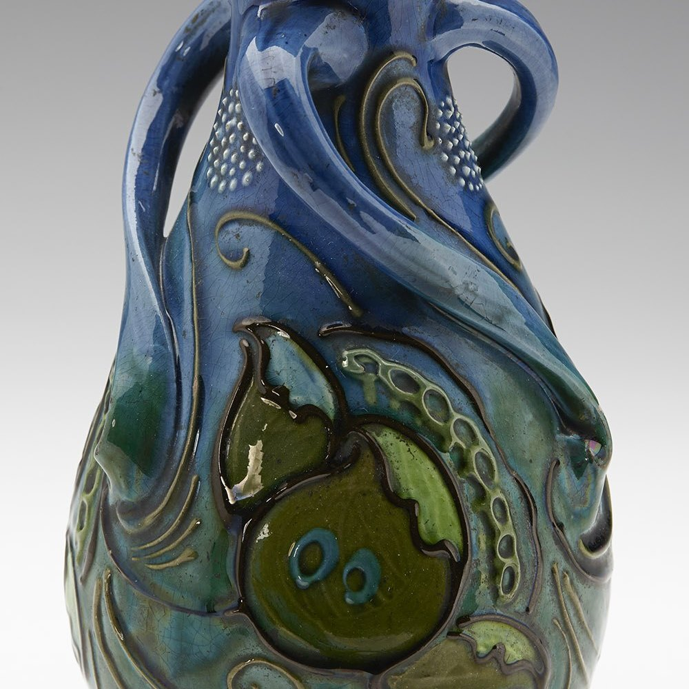 BRANNAM VASE 1906 Dated 1906