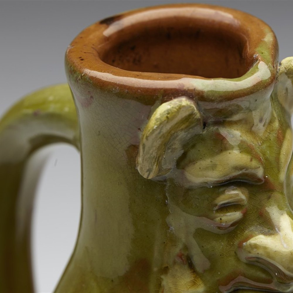 Scarce Antique William Baron Grotesque Jug Designed By Blanche Vulliamy c.1899