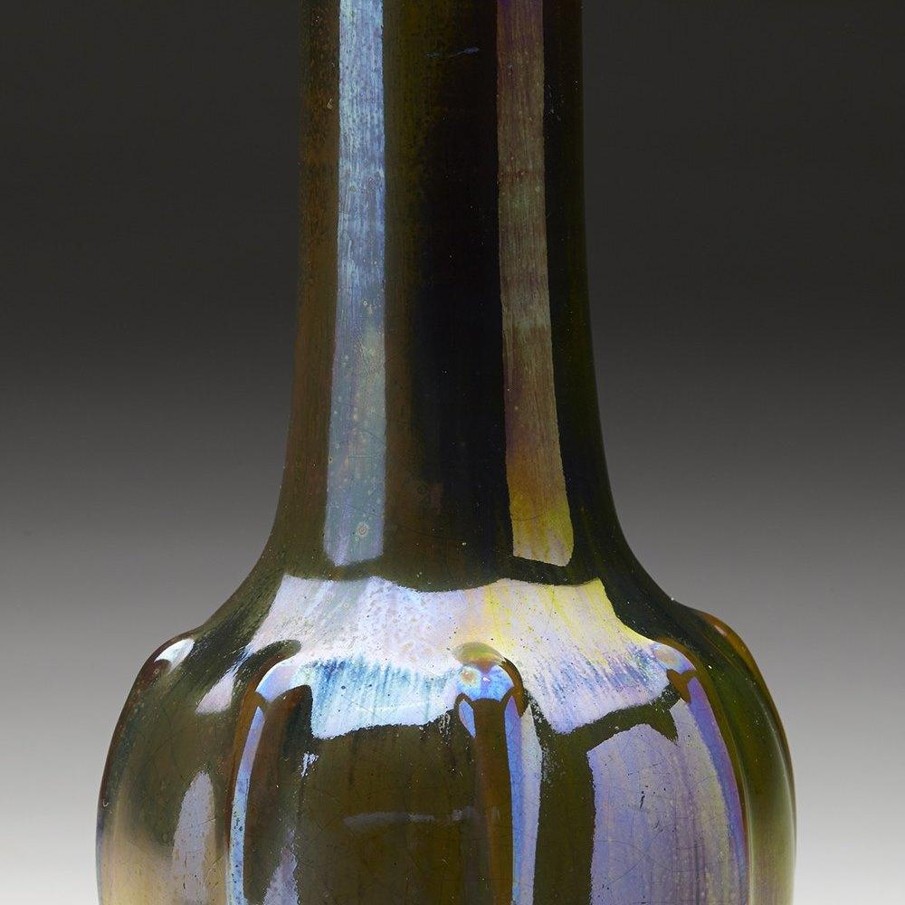 Stunning Art Nouveau Pilkington Lustre Glazed Art Pottery Vase c.1908