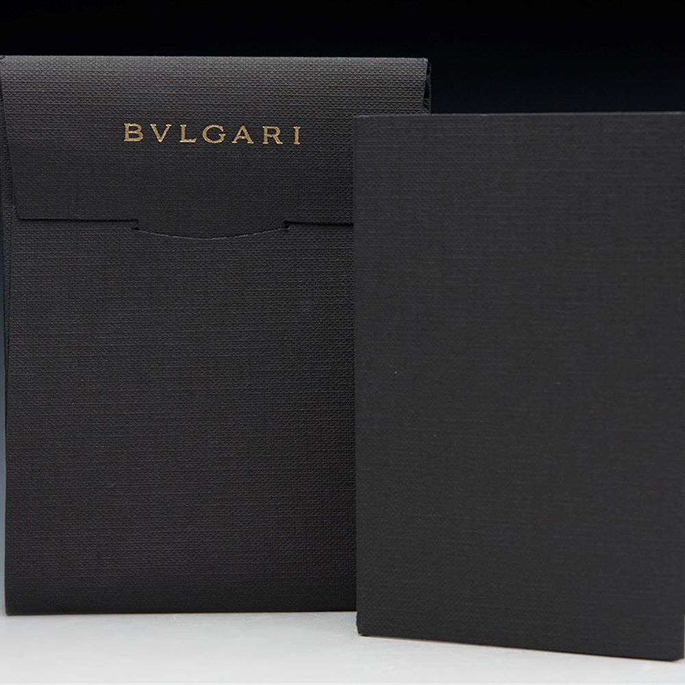 Bvlgari (or Bulgari) B Zero 1 18K White Gold Diamond Ring Size 53