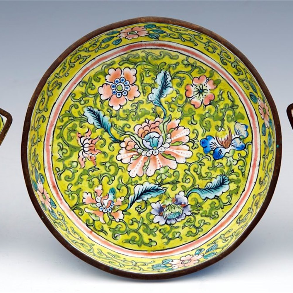 CHINESE CANTON SUPPER SET Qing Dynasty, 19th Century or possibly early 20th century
