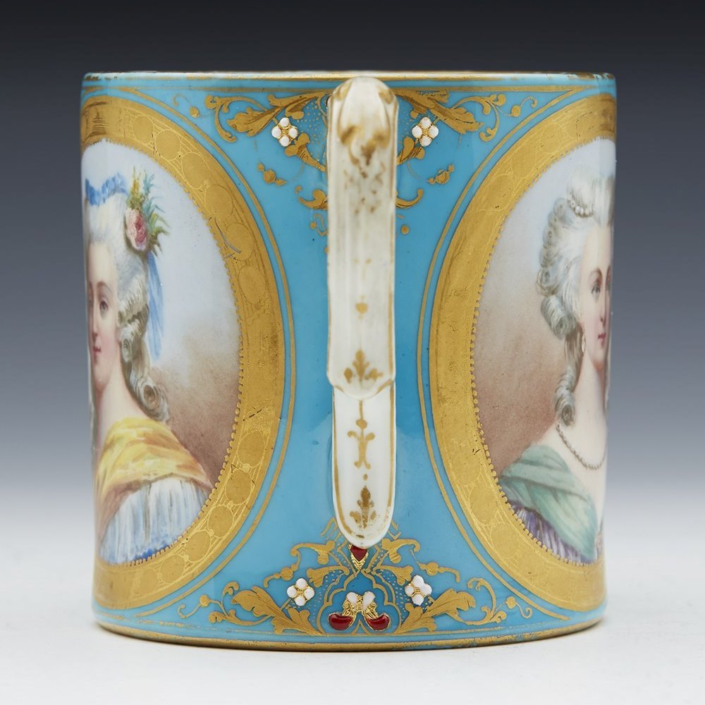 SEVRES LOUIS XVI CUP 18/19TH C. Believed 18th or early 19th century