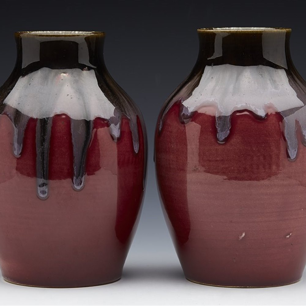 ARTS & CRAFTS VASES c.1890 Circa 1890