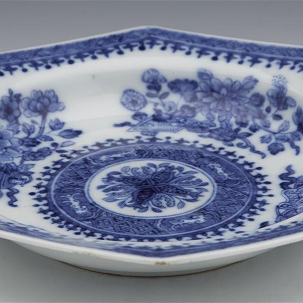 QIANLONG FITZHUGH PLATE 18TH C. Qianlong 18th Century