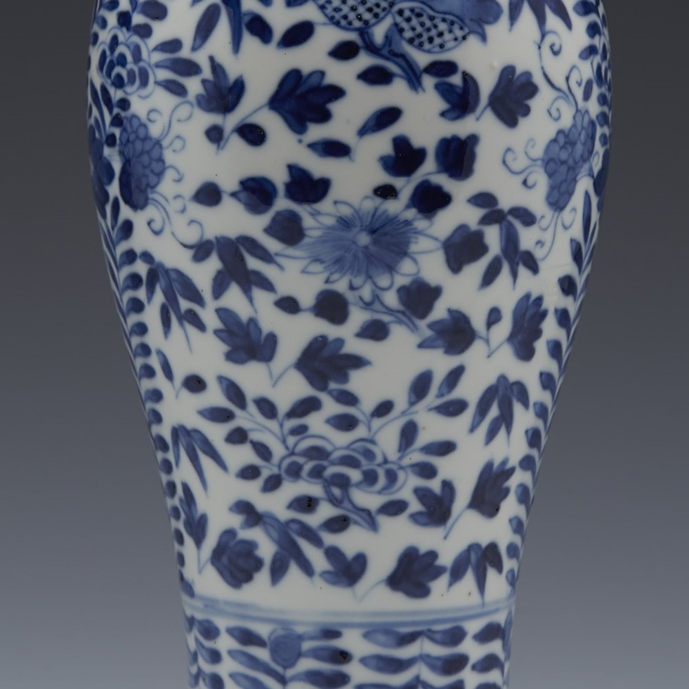 Superb Antique Chinese Xuande Mark Blue