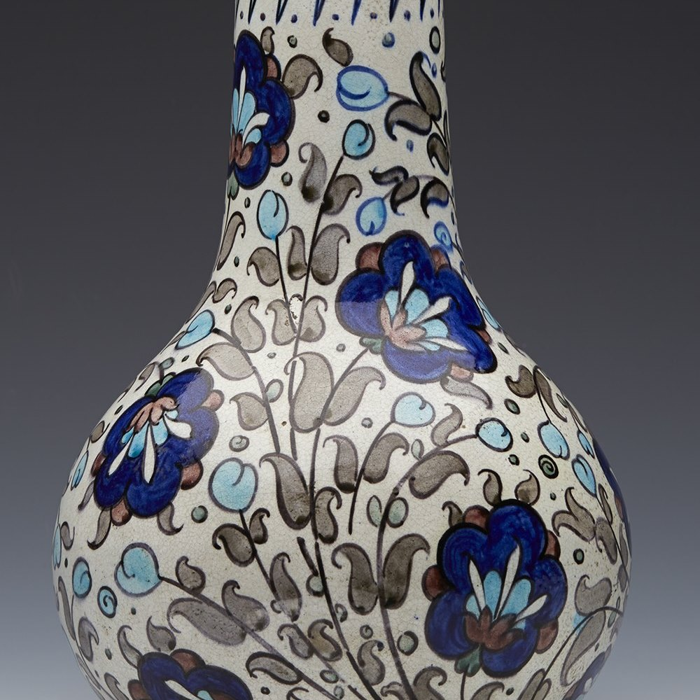 BURMANTOFTS PERSIAN VASE c.1890 Circa 1890