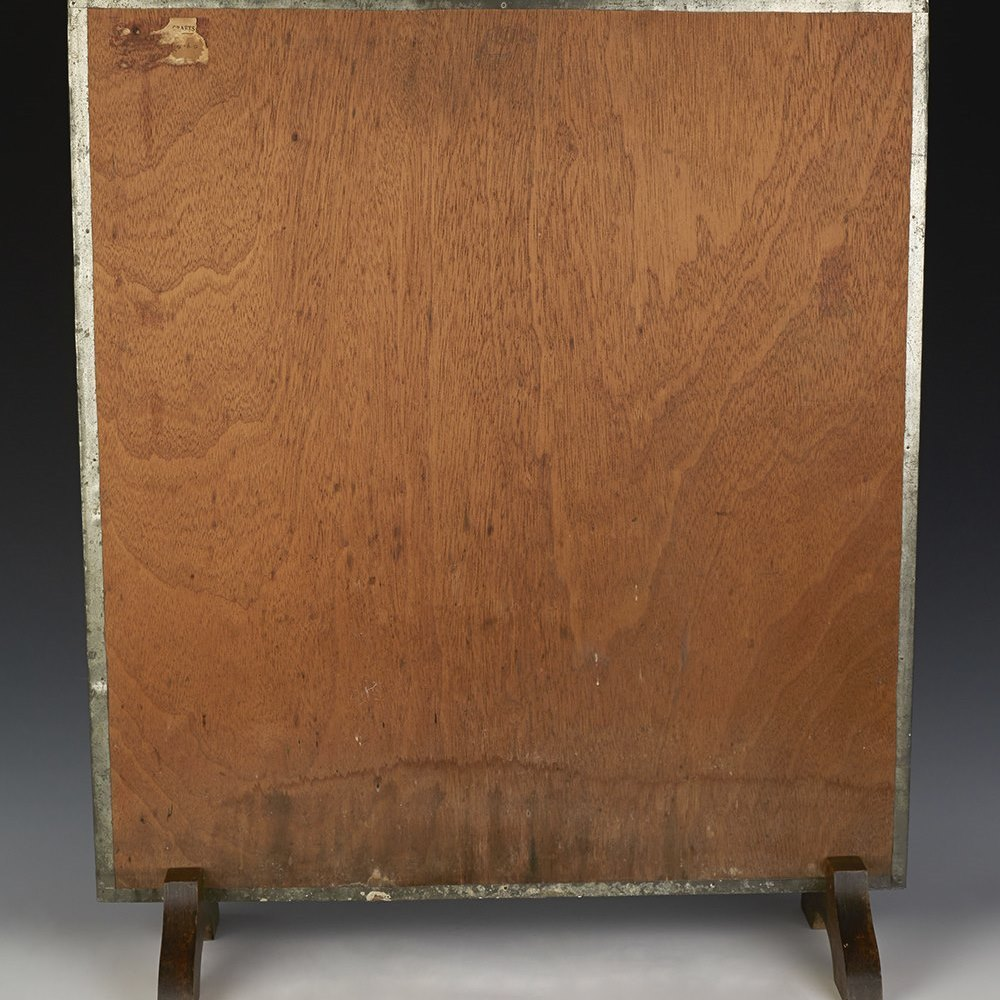 ARTS & CRAFTS FIRE SCREEN c.1900 Circa 1900