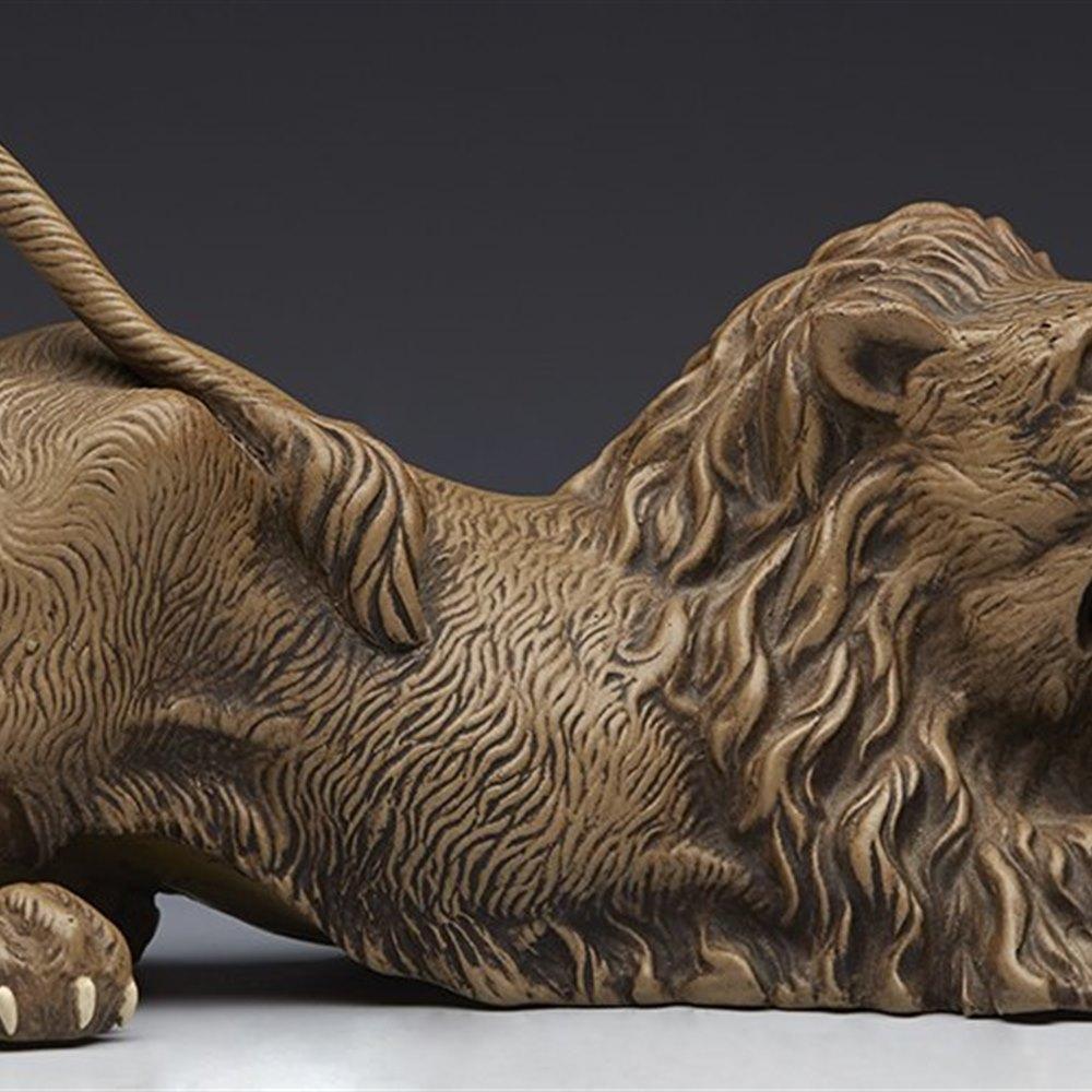 AUSTRIAN LION GOLDSCHEIDER? c.1890 Circa 1890