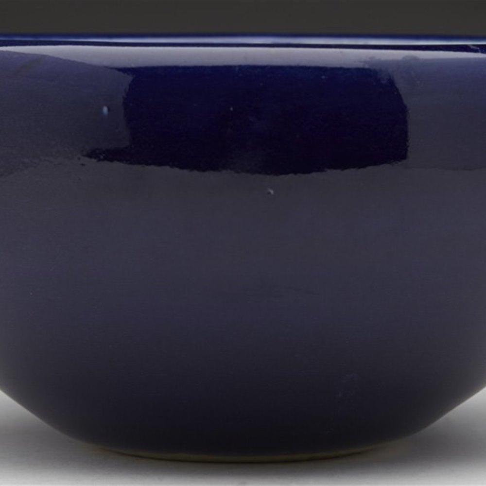 Superb Antique Chinese Blue Glazed Porcelain Brush Washer 18/19th C.