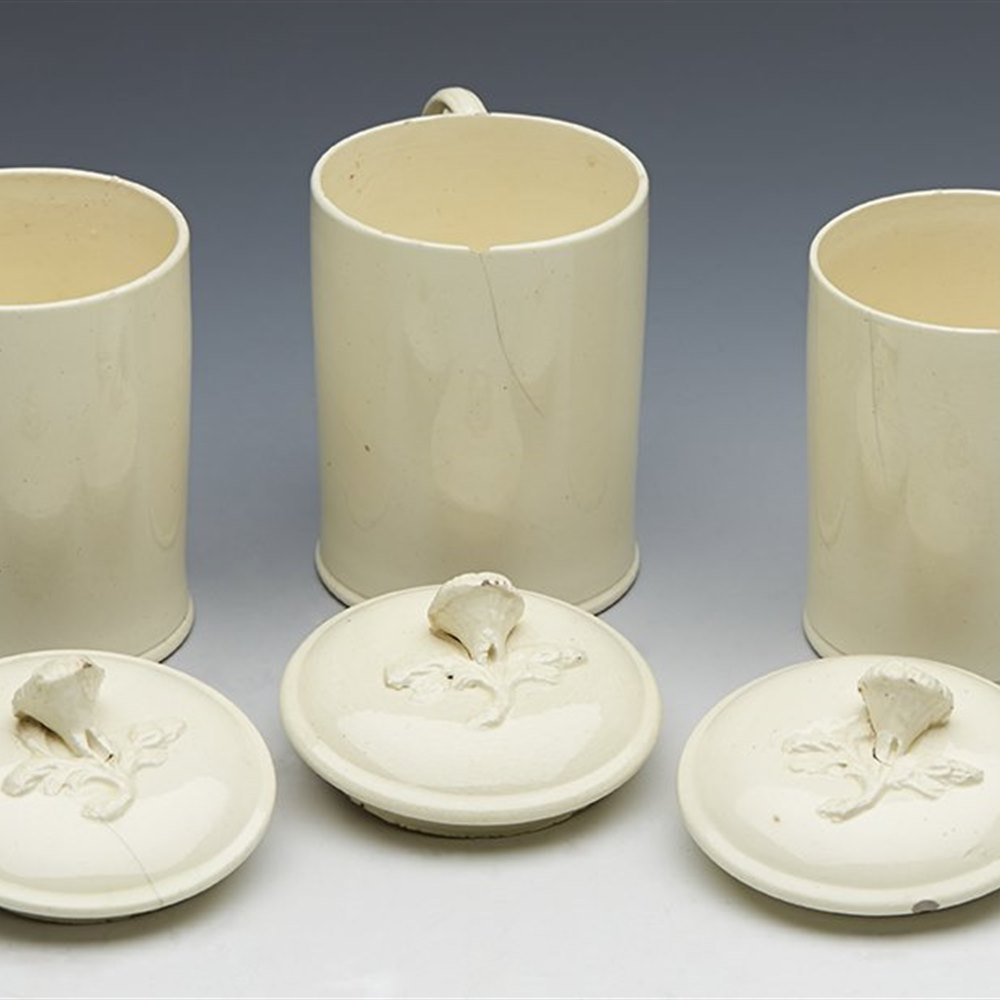 ENGLISH CUSTARD CUPS 18TH C. 18th Century