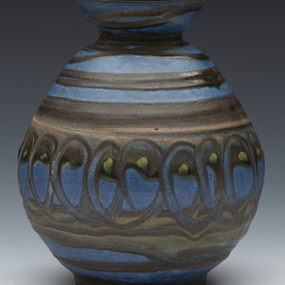 DANISH ART POTTERY VASE 20th Century