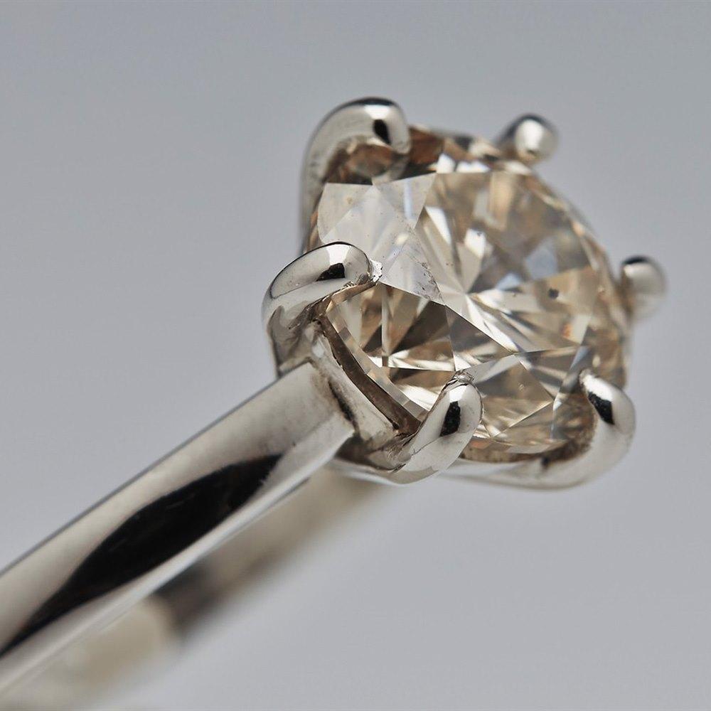 Platinum Platinum Diamond 2.70cts Ring