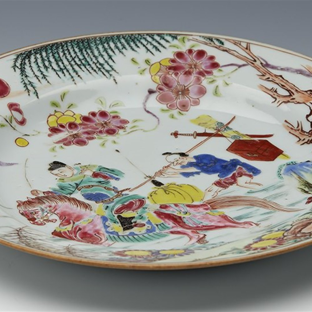 CHINESE YONGZHENG PLATE Yongzheng period dating 1723 – 1735