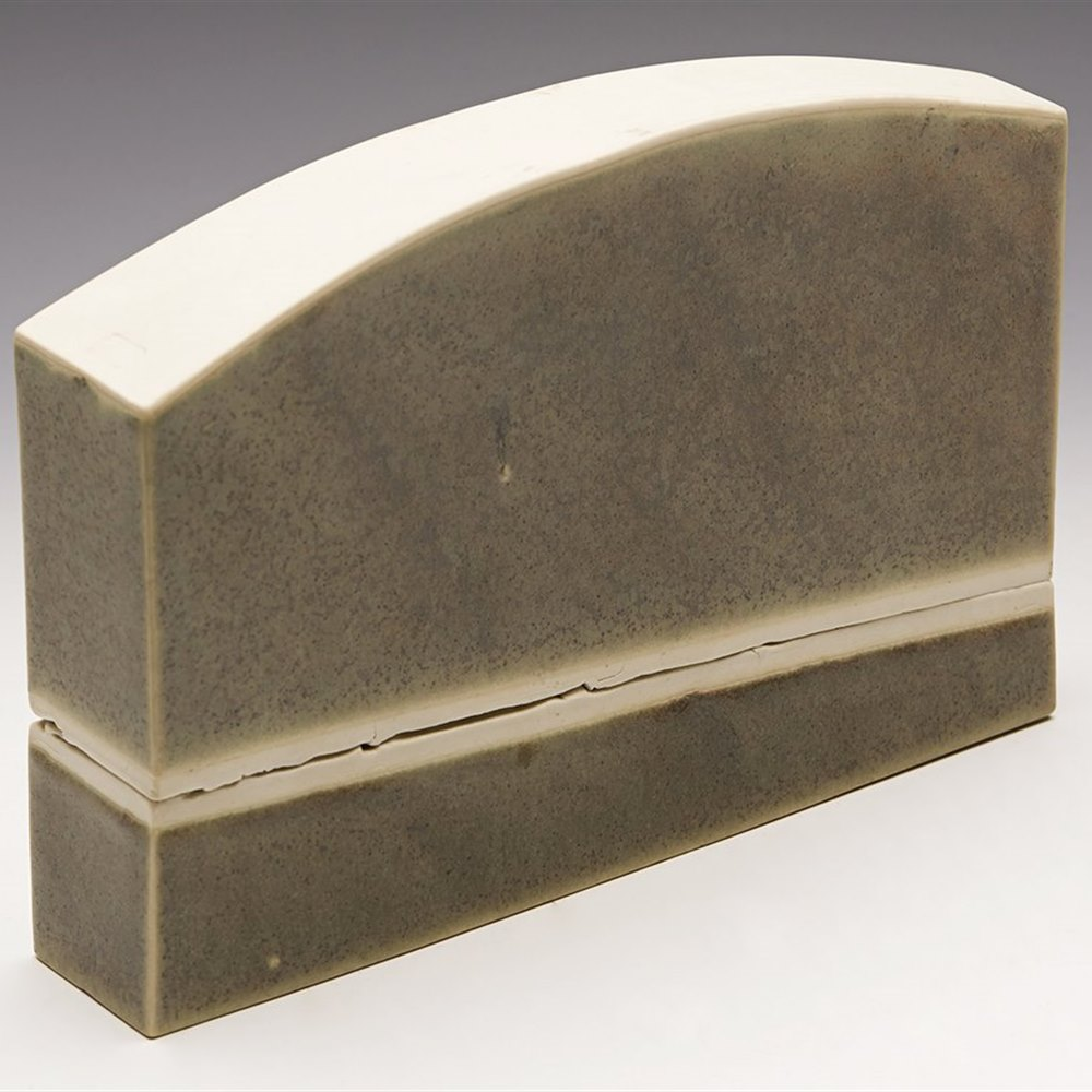 Stylish Contemporary Studio Pottery Sculpture Or Installation 20th C By Peter Care