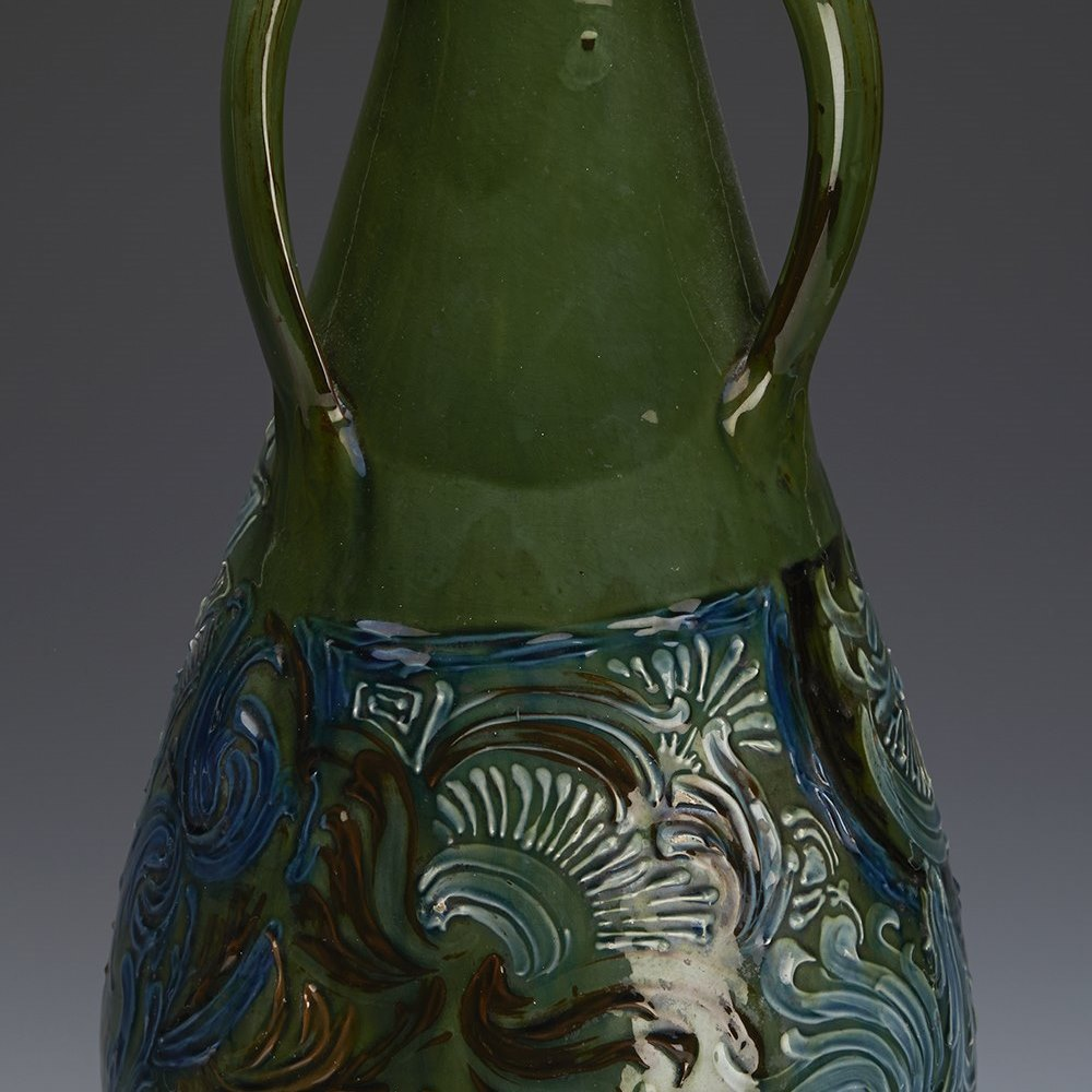 BRANNAM VASE BAMKIN 1899 Dated 1899