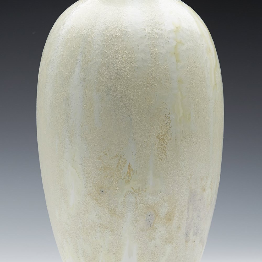 Royal Doulton Chrystalline Glazed Vase By Cuthbert Bailey 1907-14