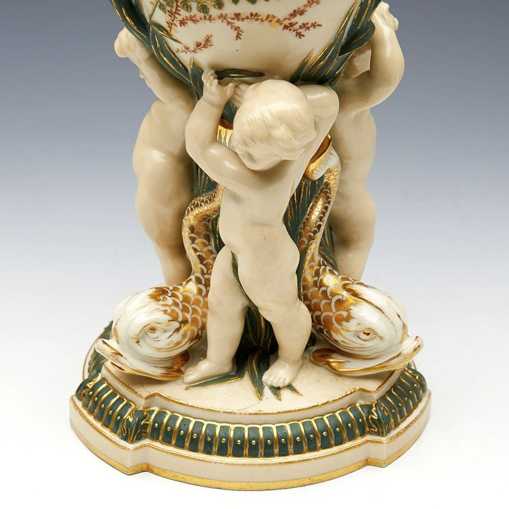 COPELAND LIDDED POT 1873 Dated October 1873