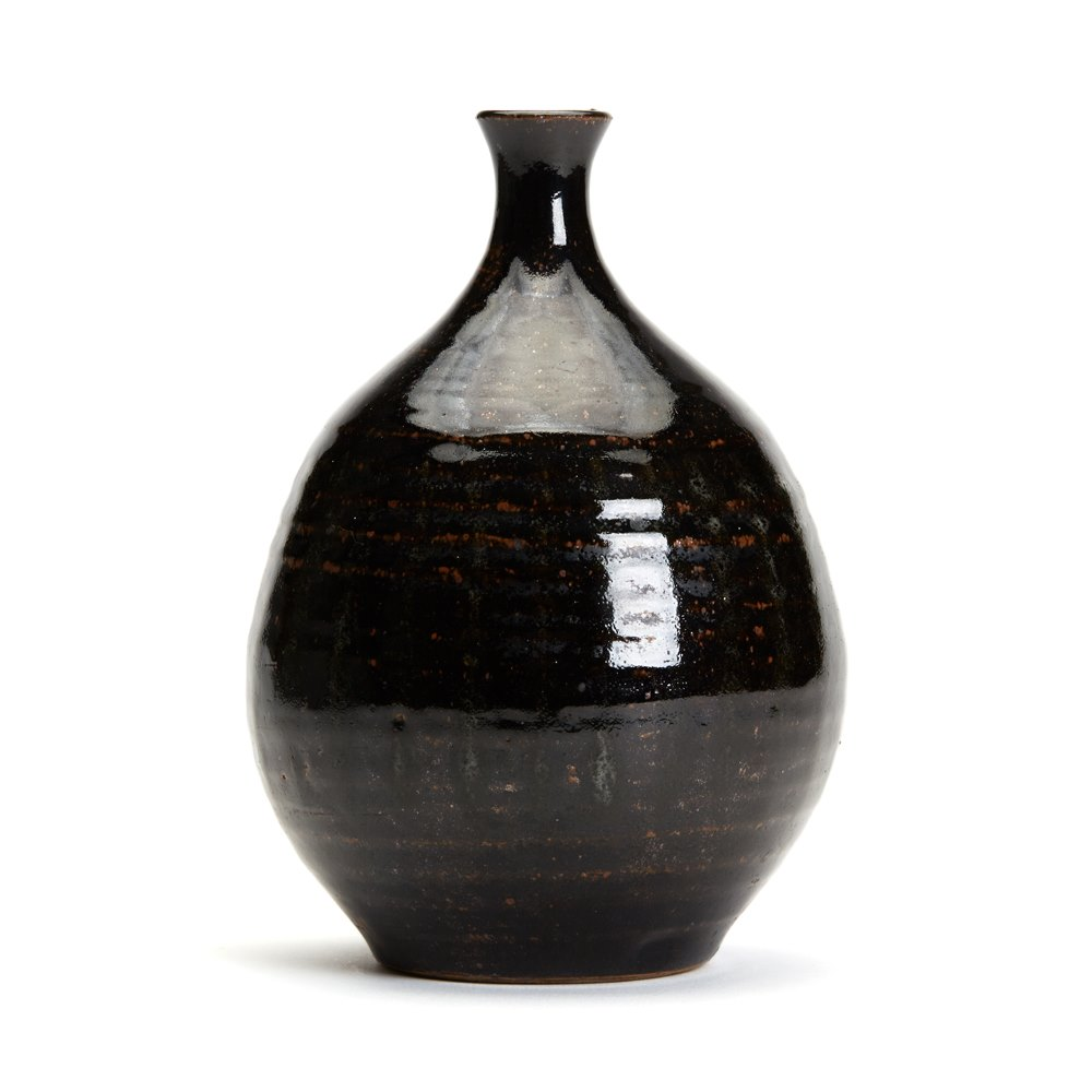 Oriental/Japanese Tenmoku Vase Possibly 18th or early 19th century or later