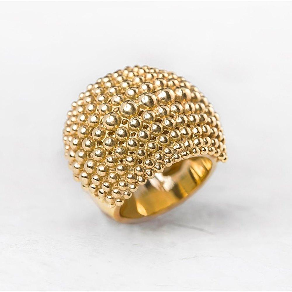 Carla Amorim 18k Yellow Gold Bombe Ring