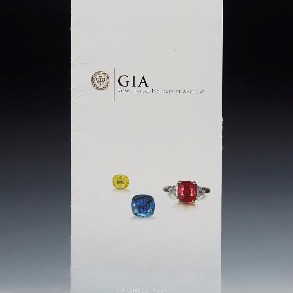 18K White Gold  18k White Gold 21.89cts VS Tanzanite & Diamond GIA Ring