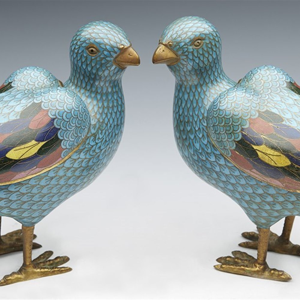 CHINESE INCENSE BURNERS 18/19TH C. 18th or early 19th century