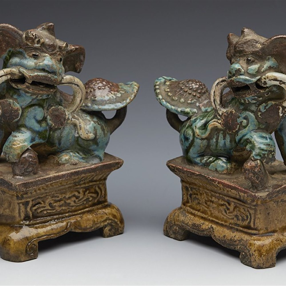 JOSS STICK HOLDERS 18TH C. 18th Century