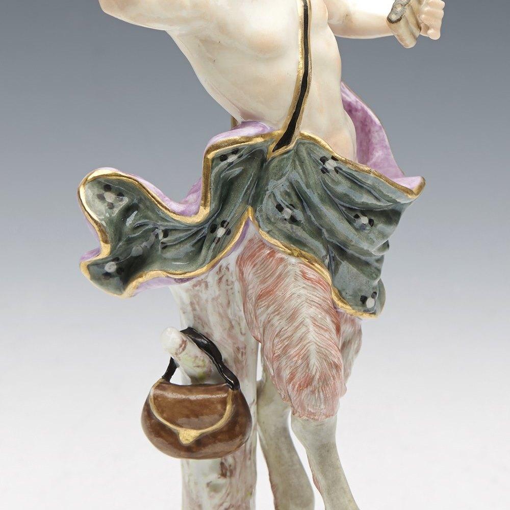 MEISSEN FIGURE OF PAN Circa 1890