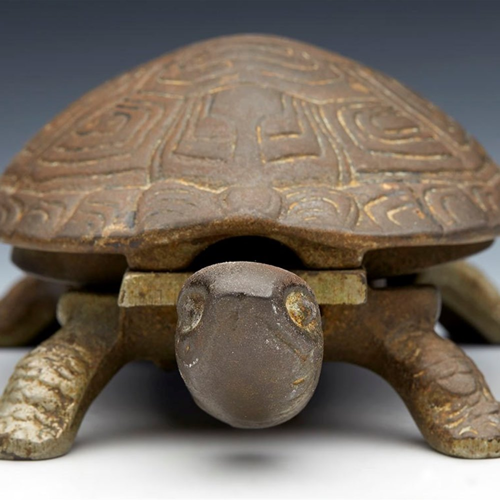VICTORIAN RECEPTION BELL TORTOISE Late 19th Century