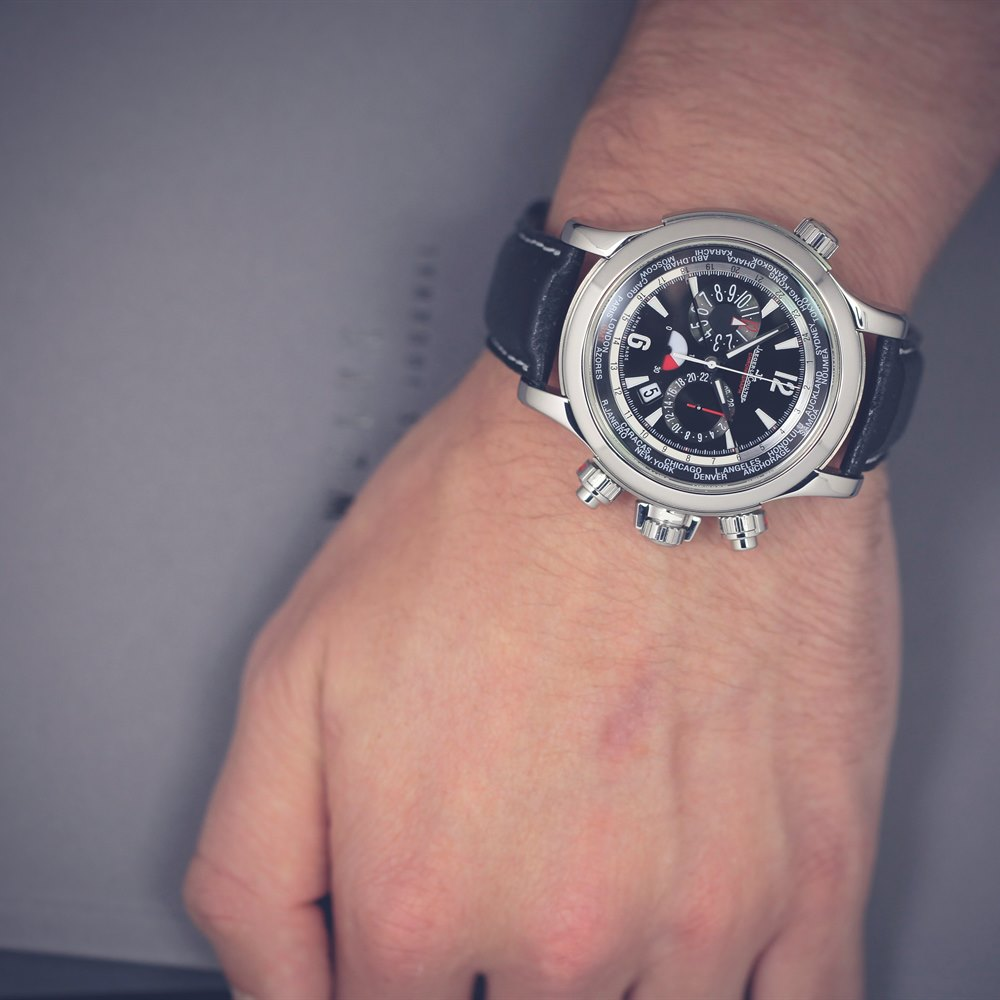 Master Compressor World Extreme Chronograph Stainless steel Q1768470