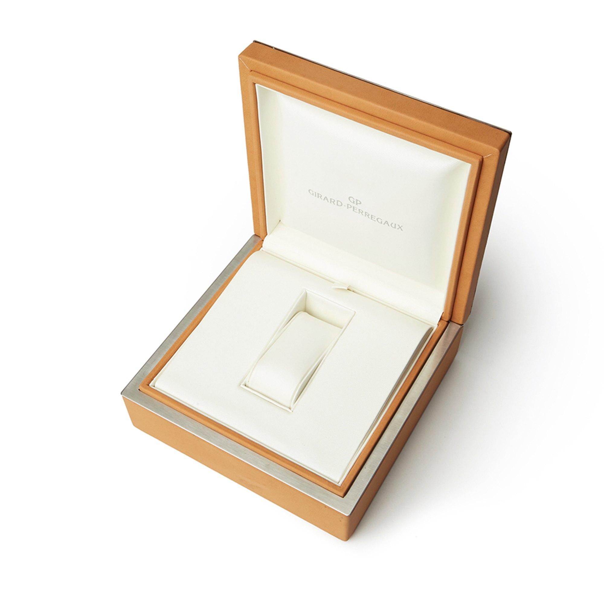 Girard Perregaux Richeville Chronograph 18K White Gold 2710