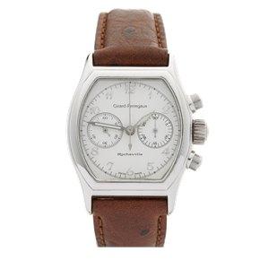 Girard Perregaux Richeville Chronograph 18K White Gold - 2710